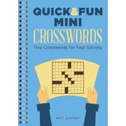 Quick & Fun Mini Crosswords : Tiny Crosswords for Fast Solving
