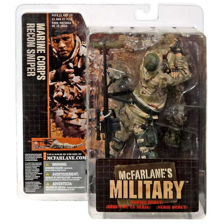 McFarlane Toys Series 1 Marine Corps Recon Sniper Action Figure [Caucasian]