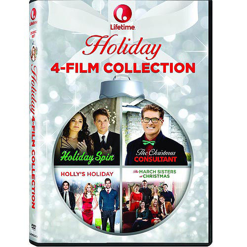 Lifetime Holiday Movie 4: Holiday Spin / Holly's Holidays / The Christmas Consultant / The March Sisters At Christmas (Widescreen)