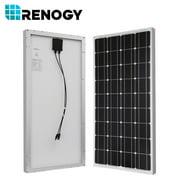 Renogy 100 Watt 12 Volt Monocrystalline Solar Complete Kit
