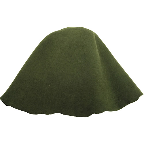 Lacis Millinery Base Wool Hoods, Olive