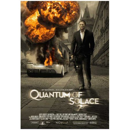 """Quantum of Solace - movie POSTER (Style C) (11"""" x 17"""") (2008)"""