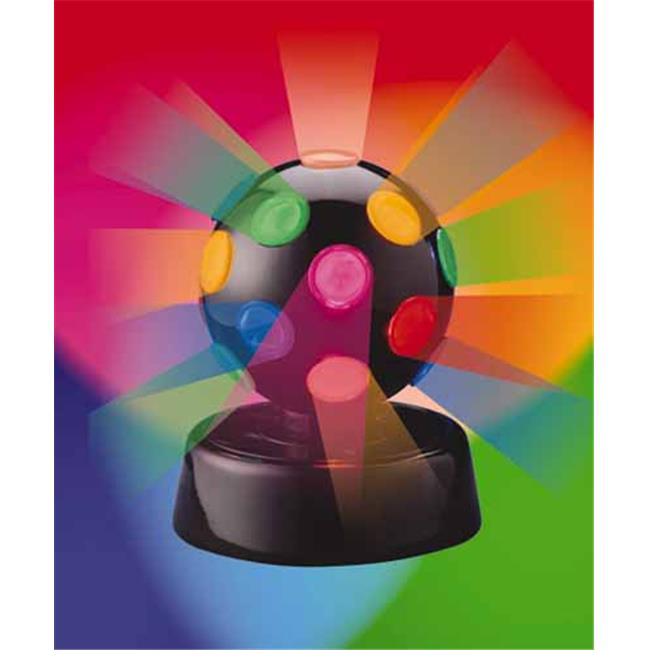 4 4 Inch Rotating Disco Ball Light by Radiant