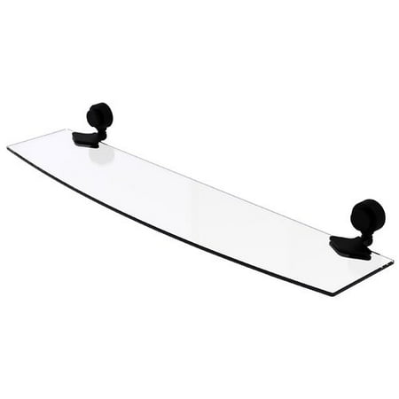 Venus Collection 24u0022 Glass Shelf with Groovy Accents (Build to Order)