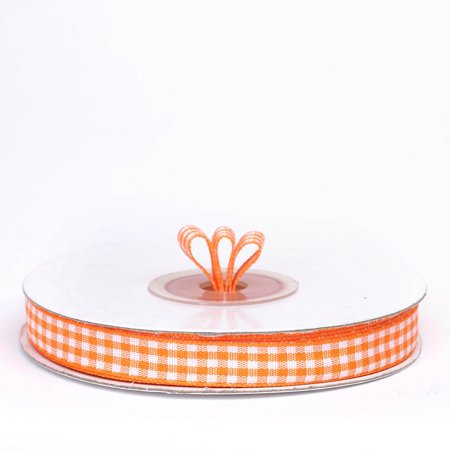 Efavormart Multiple Colors Wedding Party Decoration Gingham FASHION RIBBONS 3/8