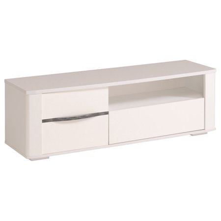 Ceram High Gloss White TV Stands / Unit with Drawers ()