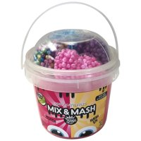 Compound Kings Yo Bucket Mix & Mash Slime Bucket With Fun Styro Bead Elements -2lbs (Pink or Teal)