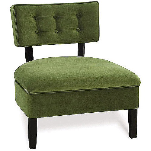 Avenue Six Curves Button Chair, Multiple Colors