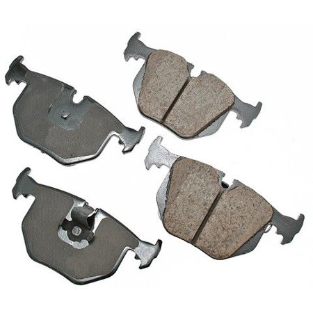 Bmw M3 Brake Discs (Go-Parts OE Replacement for 2001-2006 BMW M3 Rear Disc Brake Pad Set for BMW M3 (3.0i / Base))