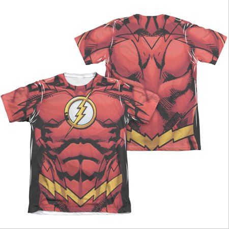 The Flash Muscle Two-Sided Costume Sublimation T-Shirt - Flash Muscle