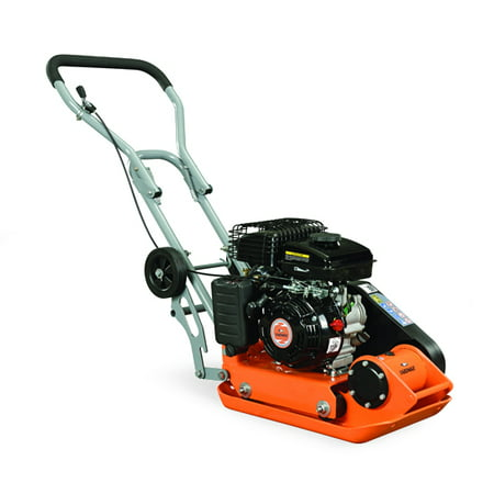 YARDMAX YC0850 1,850 lb. Compaction Force Plate Compactor 2.5HP/79cc - Stone Plate Compactor