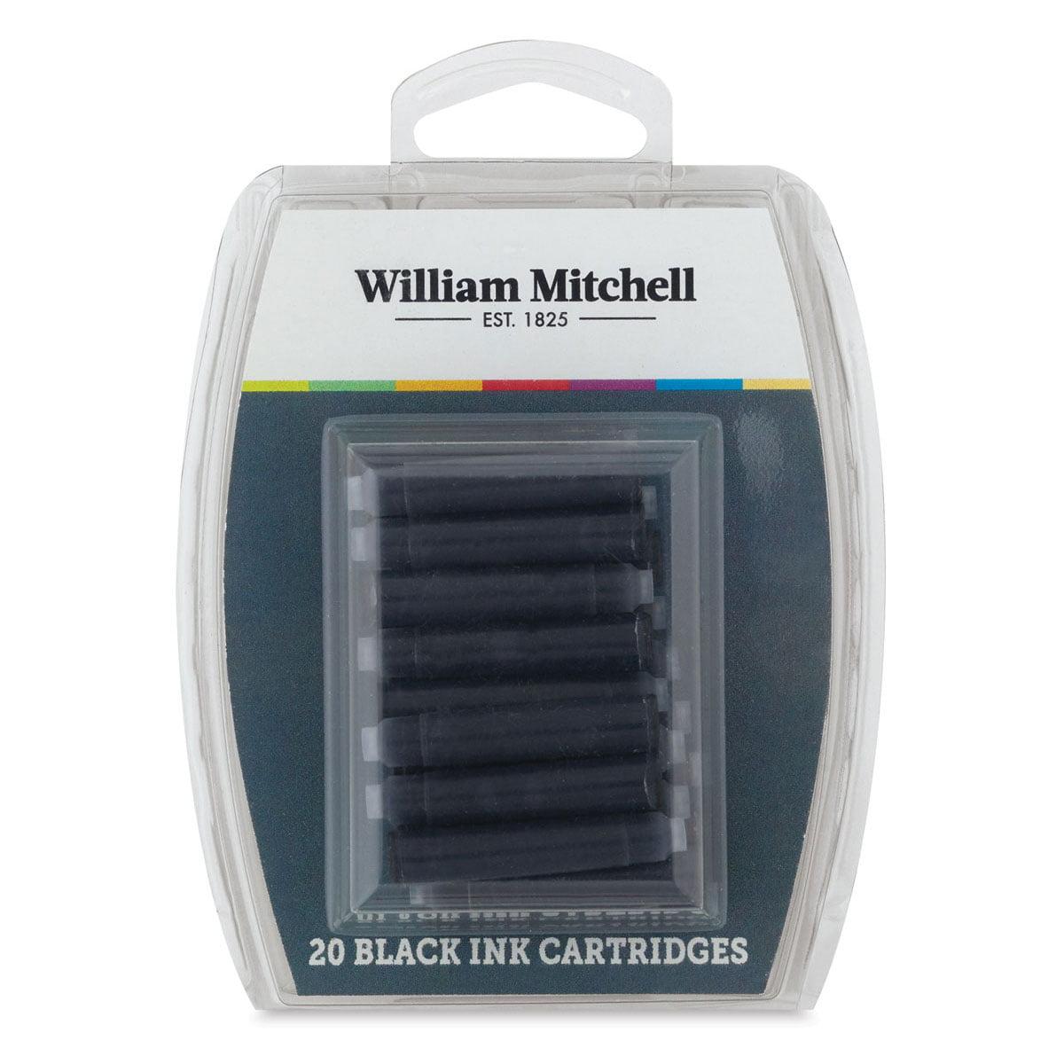 William Mitchell Universal Black Ink Calligraphy Cartridges