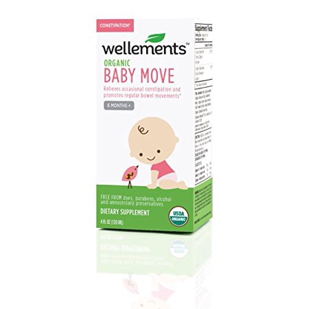 Gentle & Safe Baby Move for Constipation Promotes Regular Bowel Movements - 4oz (Baby Moves)