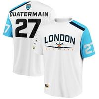 QuaterMain London Spitfire Overwatch League Away Jersey - White
