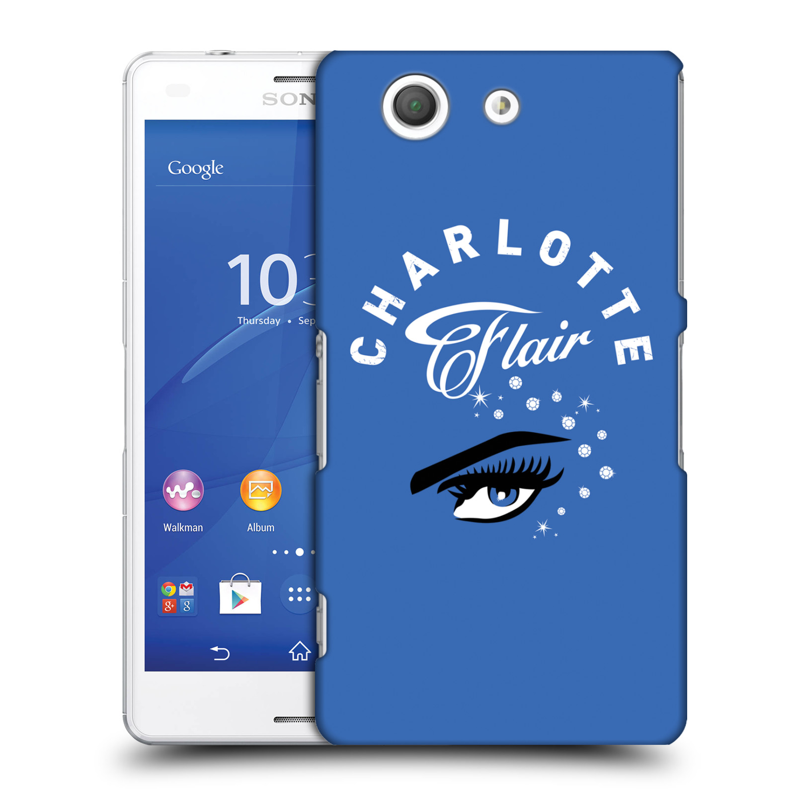 OFFICIAL WWE CHARLOTTE FLAIR HARD BACK CASE FOR SONY PHONES 1