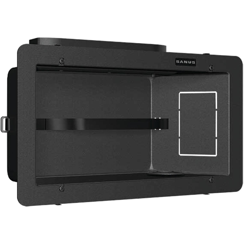 Sanus SA808-B1 Recessed Component Box, 4 Components
