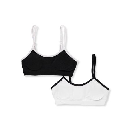 Marilyn Taylor Girls' 2-Pack Seamless Bras - Chuck Taylor Girls