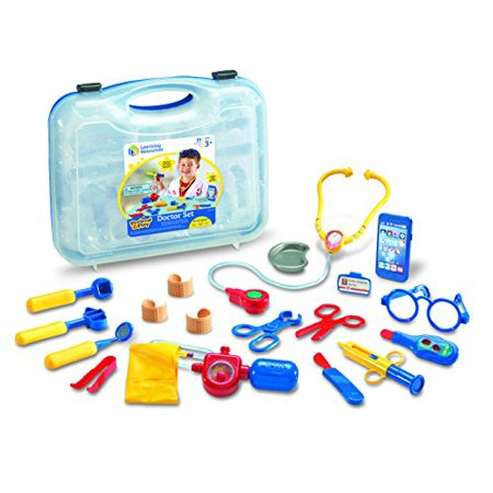 Learning Resources Pretend & Play Doctor Set, 19 Pieces, Blue - image 5 de 5