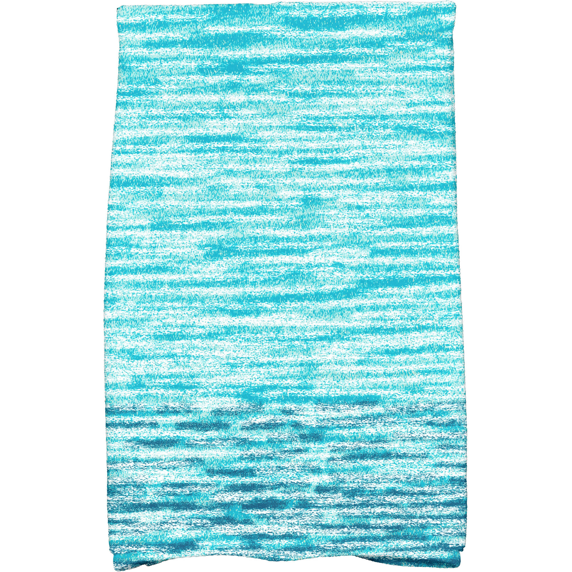 """Simply Daisy 16"""" x 25"""" Ocean View Geometric Print Kitchen Towel by E By Design"""