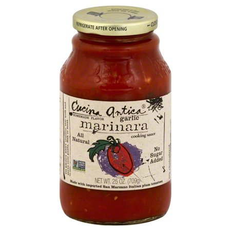 Cucina Antica Garlic Marinara - Cucina Antica Garlic Marinara Sauce ( 12x25 OZ)