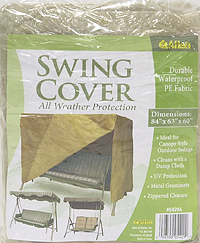 Outdoor Patio Swing Cover Image 2 Of 4