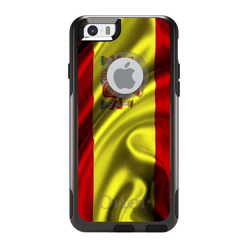 DistinctInk Custom Black OtterBox Commuter Series Case for Apple iPhone 6 Plus  ...