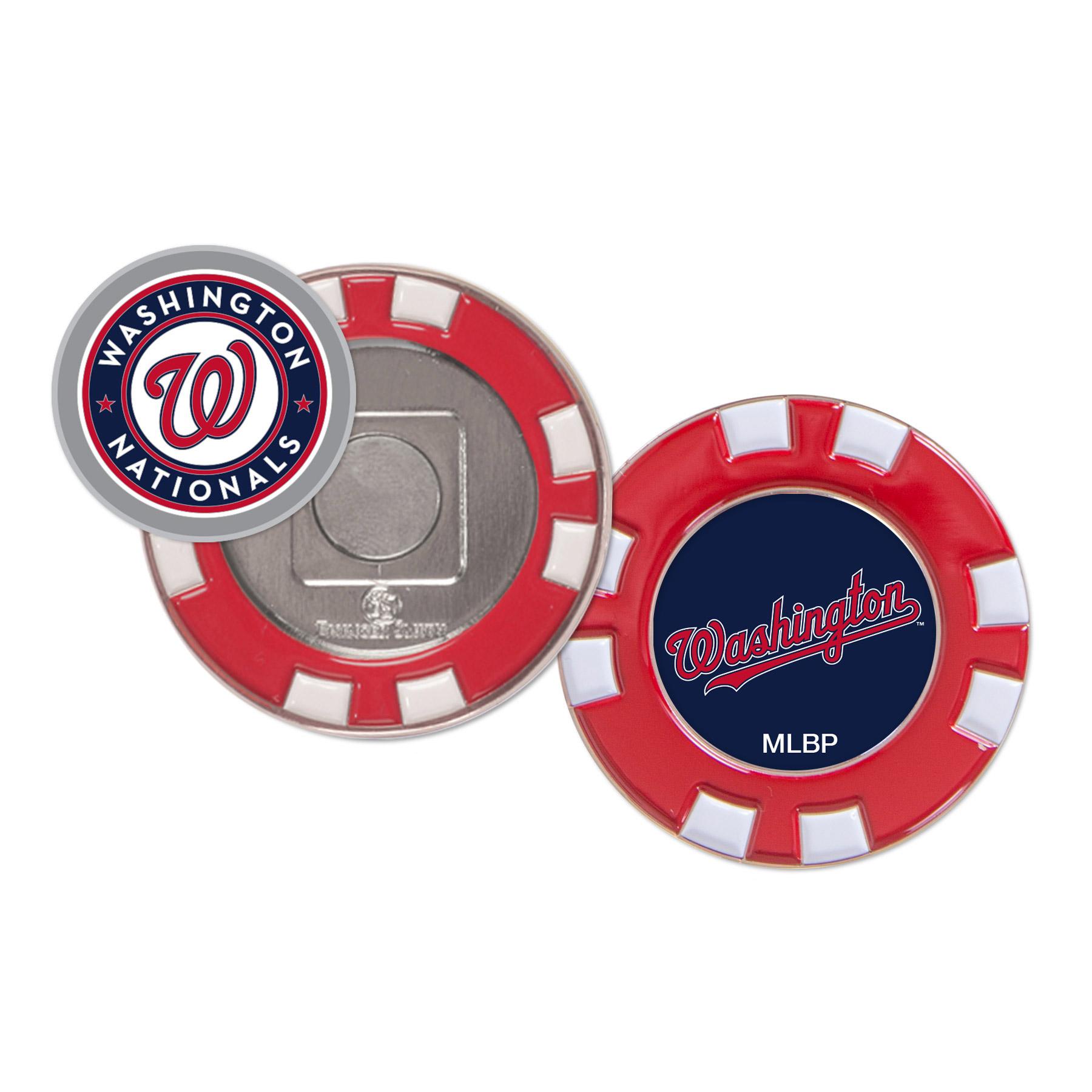 Washington Nationals WinCraft Golf Poker Chip - No Size