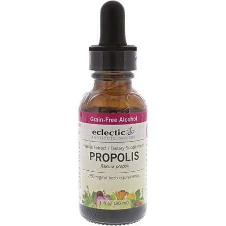 Eclectic Institute Herbal Extract Respiratory and Immune Support Supplement Propolis Daily Use Essential Oil. ()