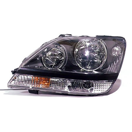 1999-2000 Lexus RX300  Aftermarket Driver Side Front Head Lamp Assembly - 00 Lexus Rx300 Headlight