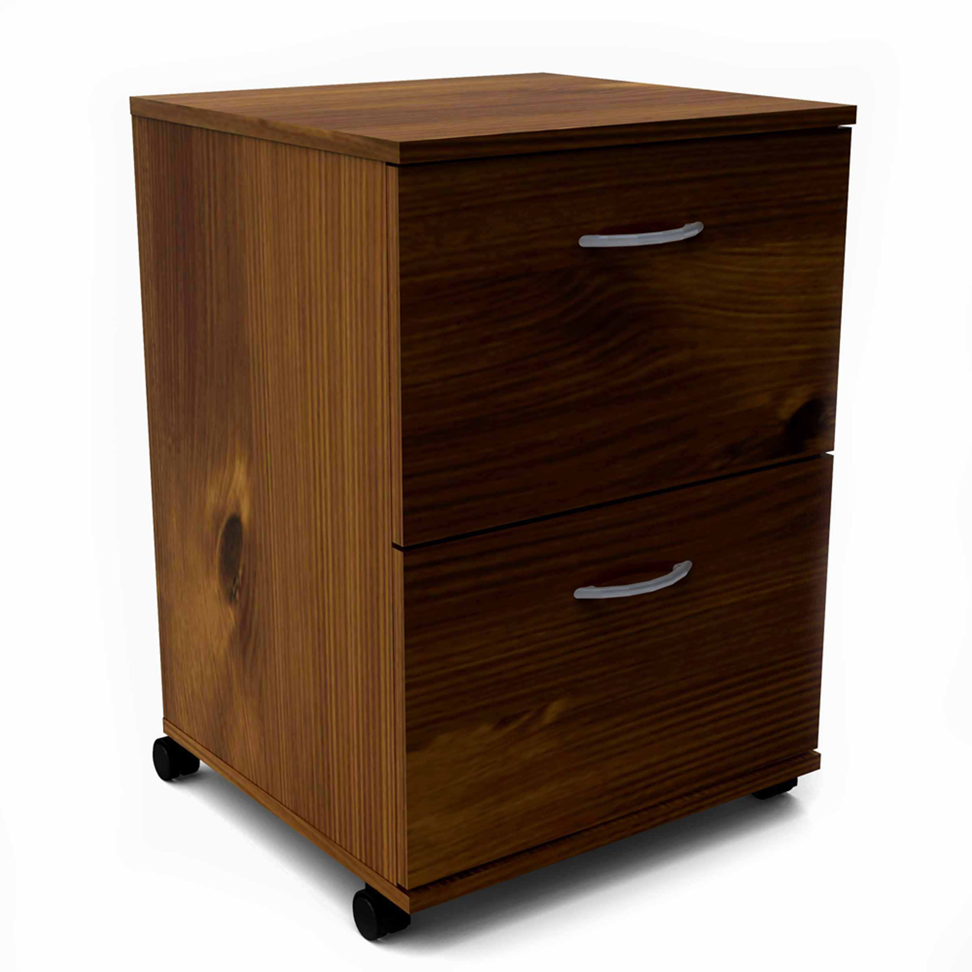 MFI / Nexera 2 Drawers Vertical Wood Composite Filing Cabinet, Multiple Finishes available