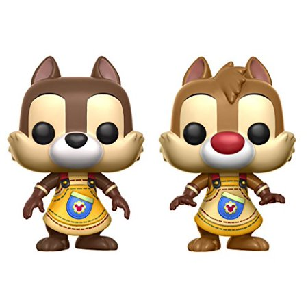 Funko POP Disney: Kingdom Hearts Chip & Dale (2 Pack) Toy Figures