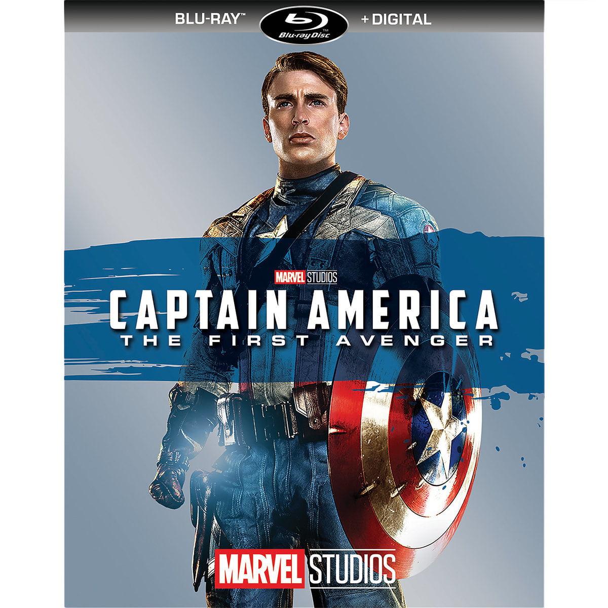 Captain America: The First Avenger (Blu-ray + Digital)