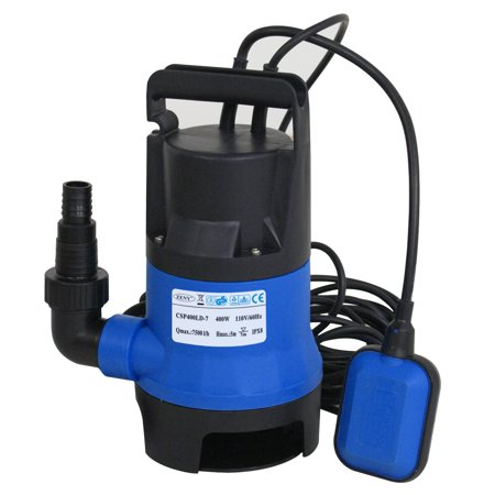 Zeny 1 2hp 2000gph Submersible Sump Water Pump Clean Swimming Pool Draining