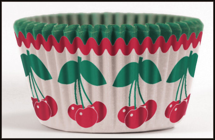 8975, Cupcake Creations No Muffin Pan Required Baking Cups, Harvest Fruit Cherry by SRT Appliance Parts