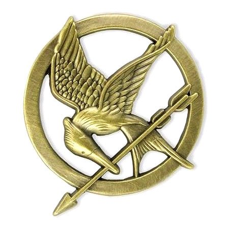 Mockingjay Costumes (The Hunger Games Movie Prop Replica pin)