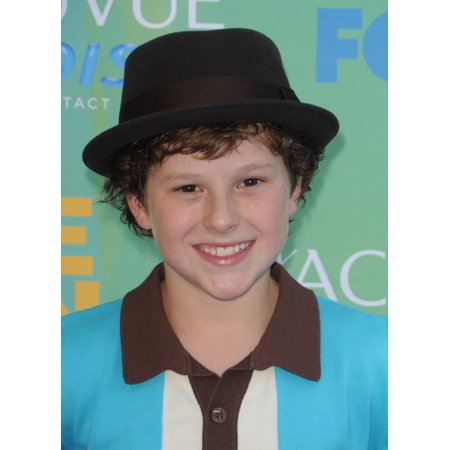 Nolan Gould At Arrivals For 2011 Teen Choice Awards - Arrivals Gibson Amphitheatre Los Angeles Ca August 7 2011 Photo By Dee CerconeEverett Collection Celebrity