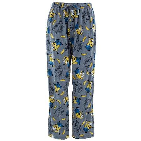 55f76d16920b Despicable Me - Despicable Me Minions Cotton Pajama Pants for Men -  Walmart.com