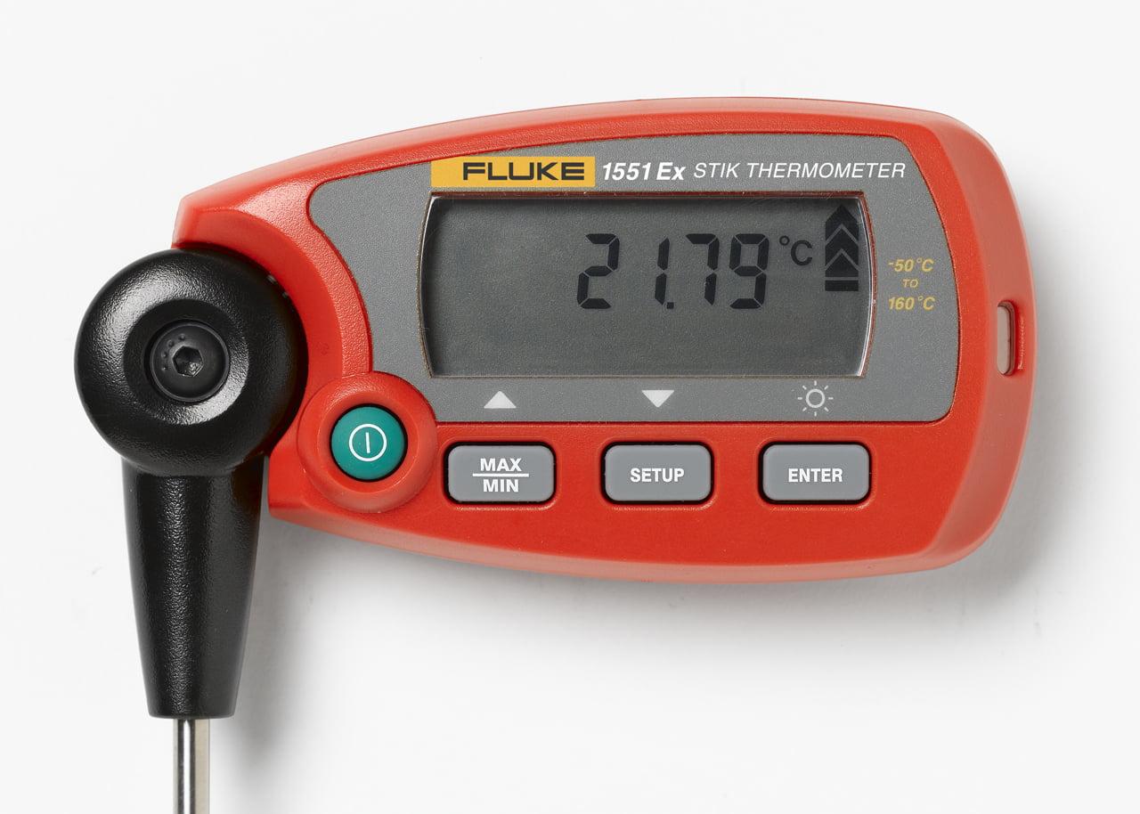 """Fluke 1551A-9 1551A Ex """"Stik"""" Thermometer Readout by Fluke"""