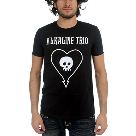 Alkaline Trio Heartskull Men's T-Shirt - Alkaline Trio Halloween