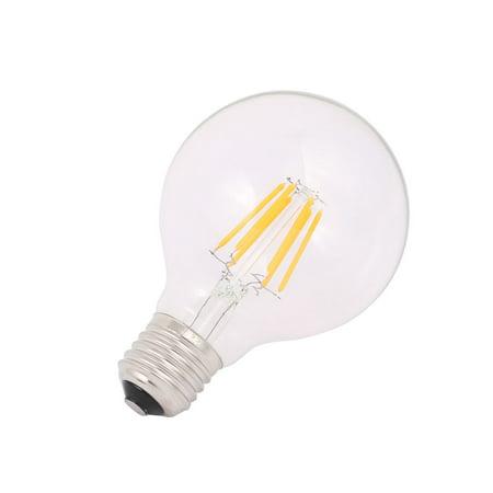 G80 Style Edison Ampoule incandes. LED AC 220-240V 6W E27 blanc chaud 2300K - image 1 de 2