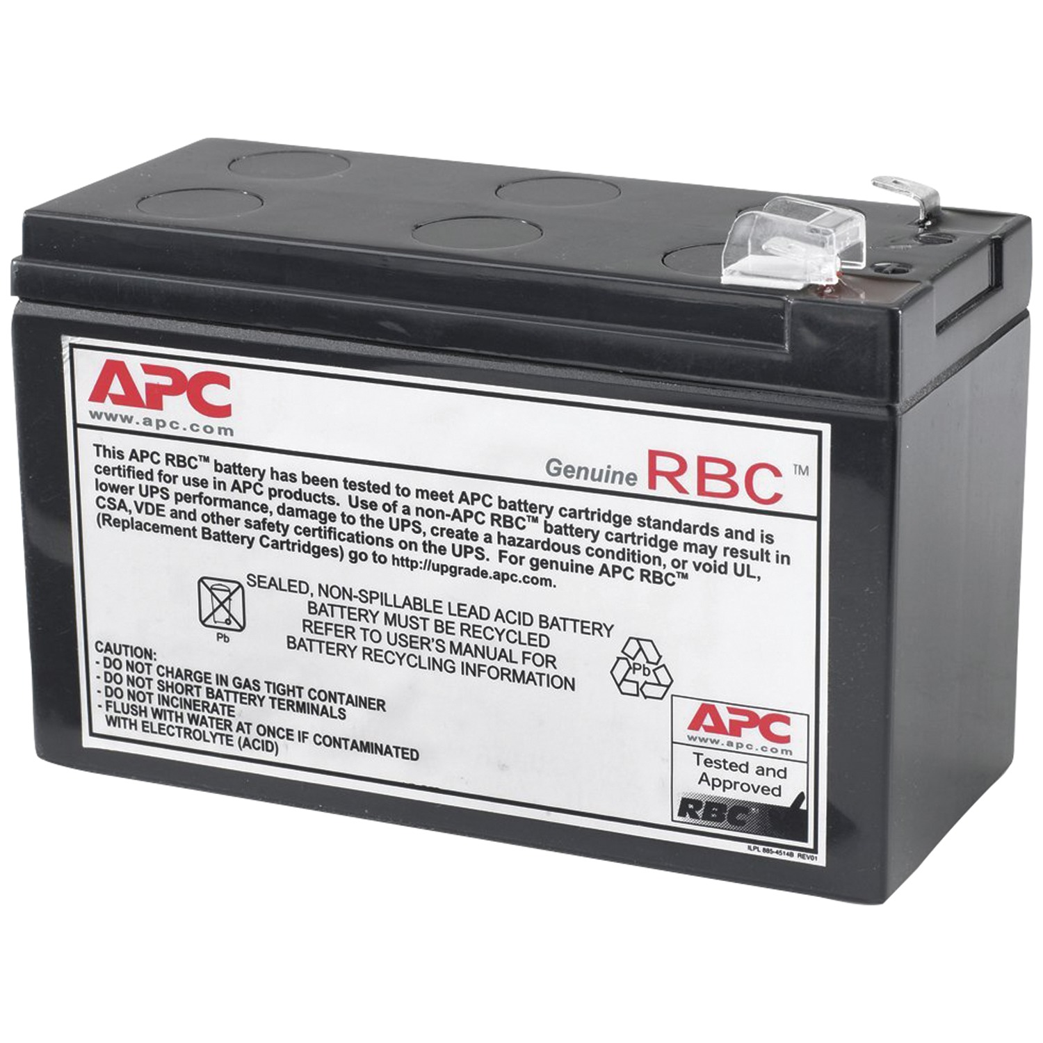RBC17 Compatible Replacement Battery for PW5115-500 by ...