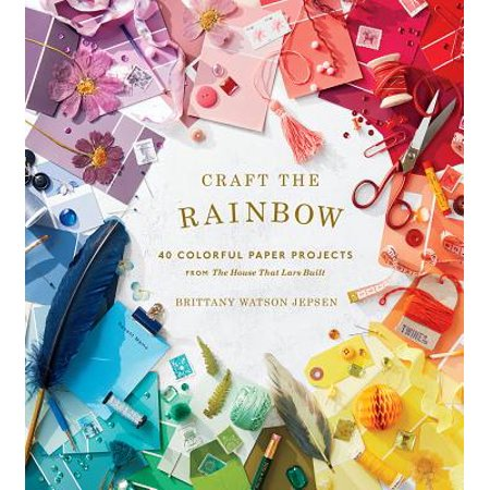 Craft the Rainbow : 40 Colorful Paper Projects from The House That Lars Built - Halloween Craft Projects Preschoolers