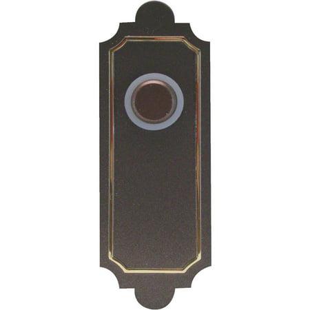 IQ America Wrls Pbtn Sw Ab Doorbell (Sandcast Bronze Doorbell)