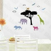 LD-855 Savanna - Hemu Wall Decals Stickers Appliques Home Decor
