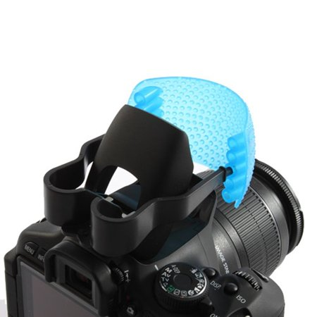 3 Color Good Qualtity Pop-Up Flash Diffuser Cover for Canon for Nikon - image 4 of 6