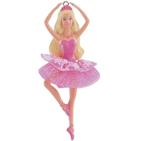 Christmas Heirloom Ornaments - Carlton Cards Heirloom The Sugarplum Princess Ballerina Barbie Christmas Ornament