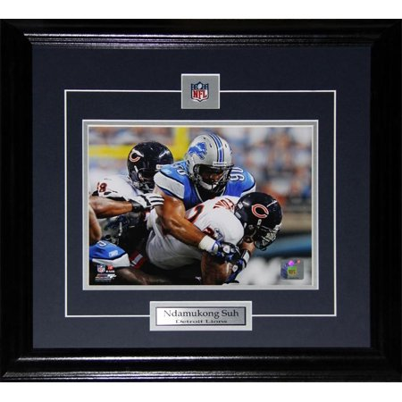 Ndamukong Suh Detroit Lions 8x10 NFL Football Memorabilia Collector Frame - image 1 of 1