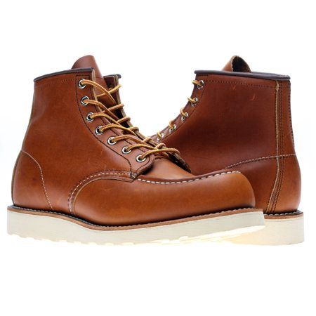 (Red Wing Heritage 875 6-Inch Classic Moc Oro Legacy Men's Boots 00875)