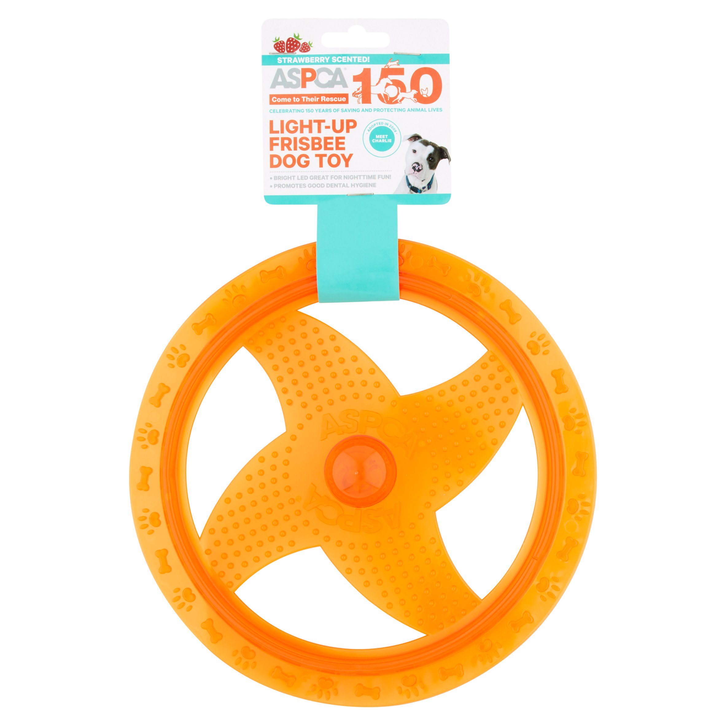 ASPCA Light-Up Frisbee Dog Toy