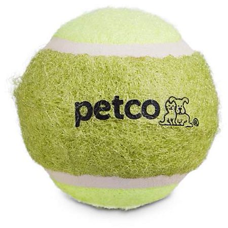 "Petco Tennis Ball Dog Toy Set in Assorted Colors, 2"" (pack of 1)"